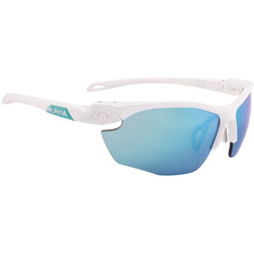 Alpina Twist Five HR CM+ Glasses white matt-emerald